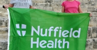 Sophie Oates (left) and Liz MacLeod of Nuffield Health