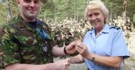 Highland-Wing-Activity-Camp-Sgt-Davidson-DofE-Gold-pin-presentation-2