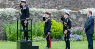 21 Gun Royal Salute Stirling Castle 13 June 2015
