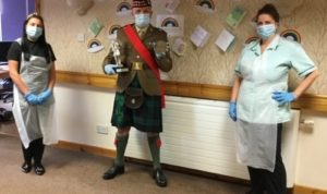 Nurses with Sergeant Kerry