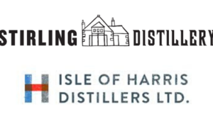 Stirling Distillery and Isle of Harris Distillers logos