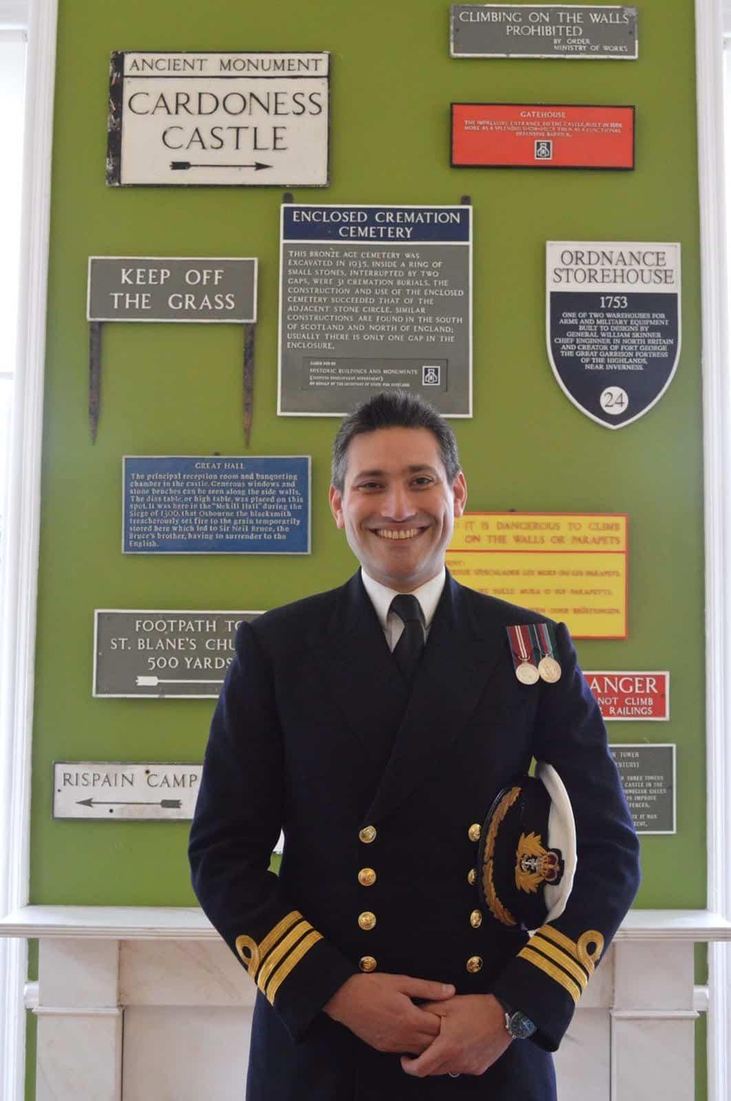 Portrait of Commander Thomas Knowles