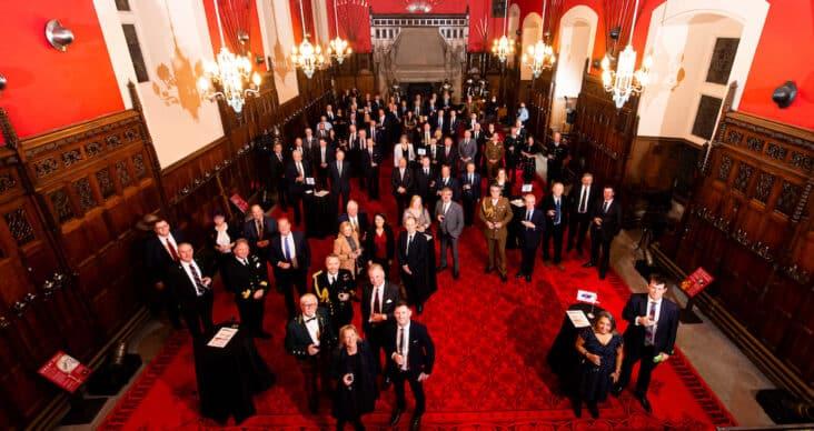 Gold employer awards at Edinburgh Castle
